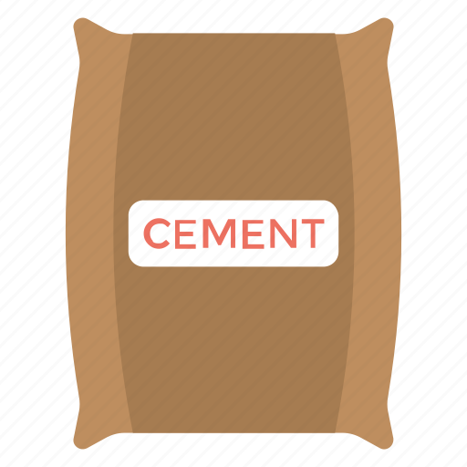 Cement, cement bag, cement industry, cement sack, construction equipment icon - Download on Iconfinder