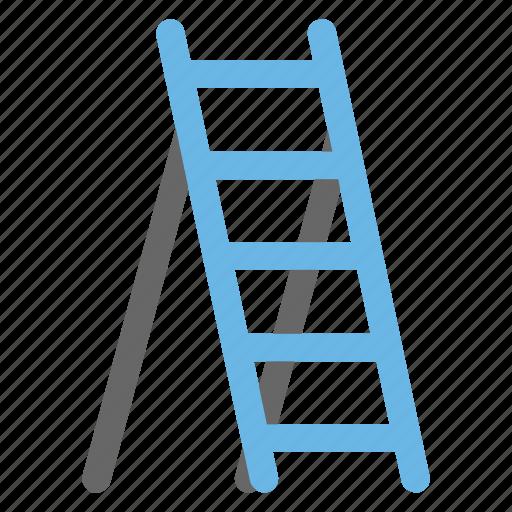 Adjustable ladder, construction equipment, folding ladder, ladder, staircase icon - Download on Iconfinder