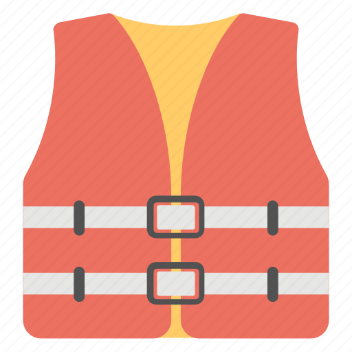 construction safety vest, protective clothes, safety vest, workwear vest icon
