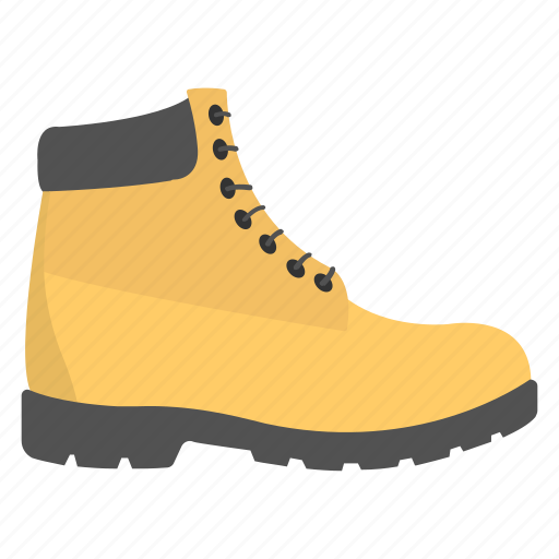 Constructor work boot, footwear, safety boots, shoes, work boots icon - Download on Iconfinder