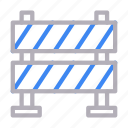 barrier, block, board, stop, underconstruction