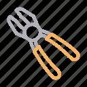 construction, fix, plier, repair, tools