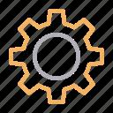 cogwheel, construction, gear, setting, tools