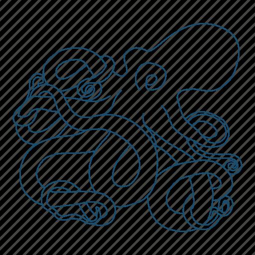 Animal, legs, mollusc, ocean, octopus icon - Download on Iconfinder