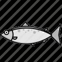fish, food, salmon, sea icon