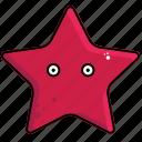 fish, sea, star, starfish icon