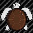 sea, tortoise, turtle icon
