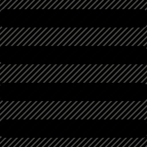 list, text icon