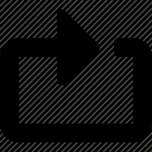 control, media, reload, repeat icon