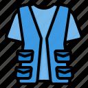 waistcoat, clothes, suit, vest, man