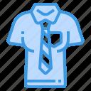 shirt, clothes, tshirt, man, necktie