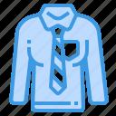 shirt, necktie, clothes, long, uniform