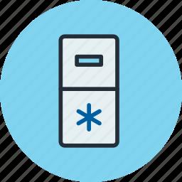 fridge, icebox, kitchen, refrigerator icon