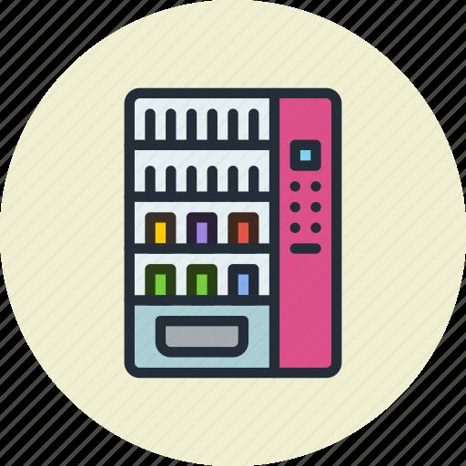 cola, machine, soda, vending icon