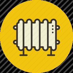 electric, heater, heating, oil, radiator icon