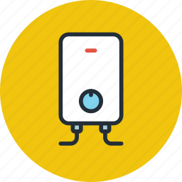 boiler, heater, hotwater, water icon