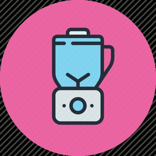 blender, breaker, ice, kitchen, mixer icon