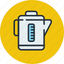 electric, kettle, kitchen, teapot icon