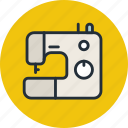 machine, needle, sew, sewing icon