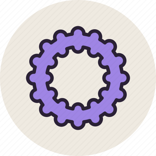 baby, rubber, teether, tooth icon