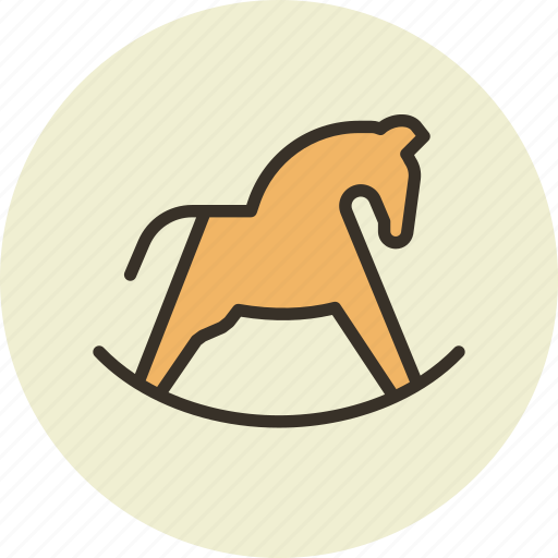 baby, hobby, hobbyhorse, horse, toy icon