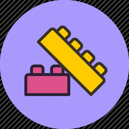 baby, blocks, bricks, constructor, toy icon