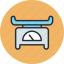baby, health, medical, scales, weight icon