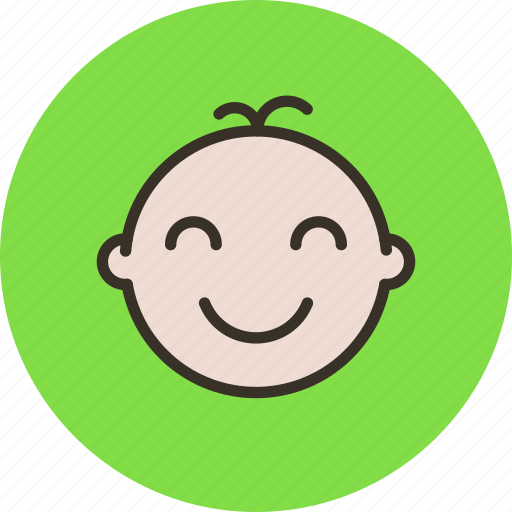 baby, child, face, infant, newborn icon