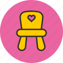 baby, chair, child, infant icon
