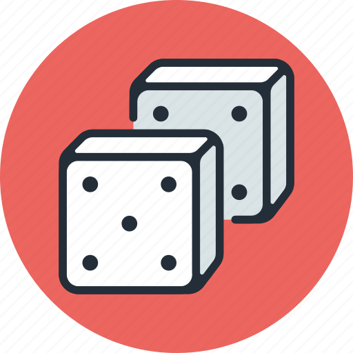 casino, dice, gambling, game, probability, theory icon