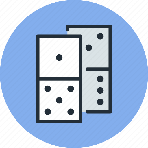 casino, domino, dominoes, game, play icon
