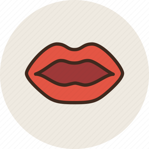 anatomy, biology, lips, medicine, mouth icon