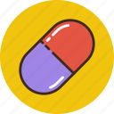 aspirin, drug, medicine, pill, tablet icon