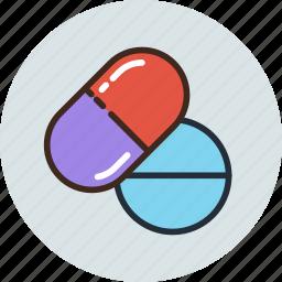 drug, medicine, pills, tablets icon
