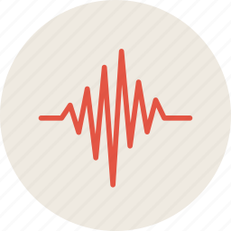 cardiogram, heart, impulse, life, medicine, pulse icon