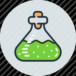 beake, biology, chemistry, lab, laboratory, test, tube icon