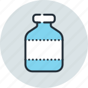 bottle, drug, flask, tube icon