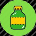 bottle, drug, flask, remedy, tube, vitamin