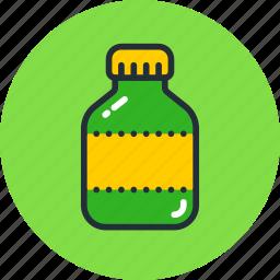 bottle, drug, flask, remedy, tube, vitamin icon