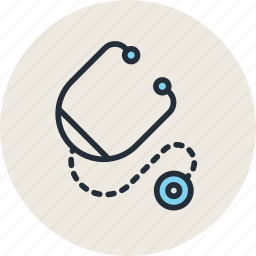 doctor, hospital, medicine, stethoscope icon