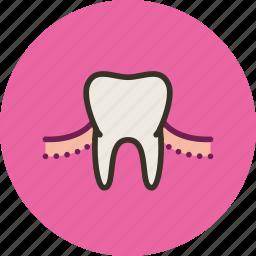 gum, medicine, teeth, tooth icon