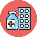 drugs, medicine, pills, treatment icon