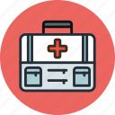 aid, briefcase, first, health, medicine, suitcase icon