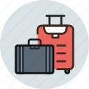bag, baggage, luggage, suitcase, travel