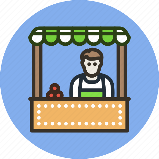 buy, cashier, employee, market, seller, shop icon
