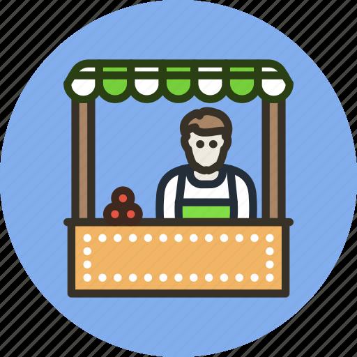 buy, cashier, employee, market, seller, shop icon