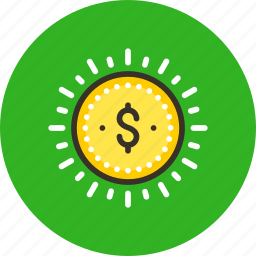 ad, advertisement, budget, finance, funding, money, sponsor icon