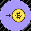 bitcoin, coin, convert, finance