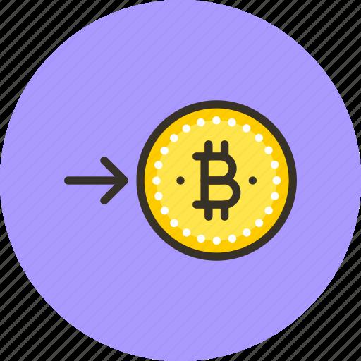 bitcoin, coin, convert, electro, finance, money, request icon