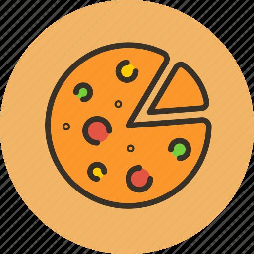 food, italian, kitchen, pizza icon
